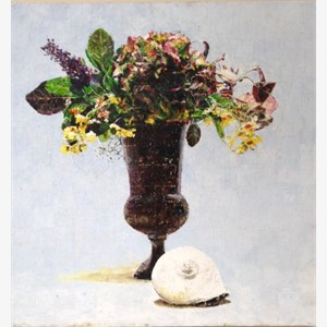 The Shell and Flowers