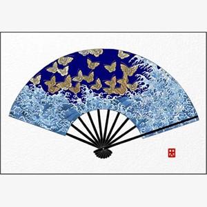 Waves And Butterflies (Fan)