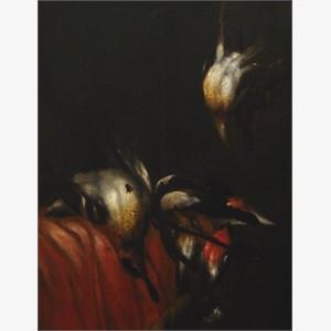 Attributed to Joseph van den Kerkhoven - Hunting Still Life