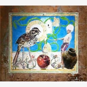 Still Life for Bird Temple #8