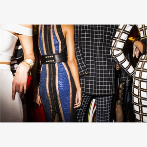 Balmain No.1 (backstage), 2015