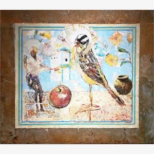 Still Life for Bird Temple #5