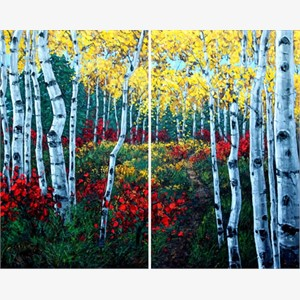 Autumn Air (diptych)