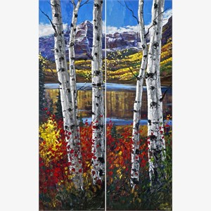 Autumn on Bells (diptych)