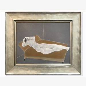 Daybed with Nude, 2018