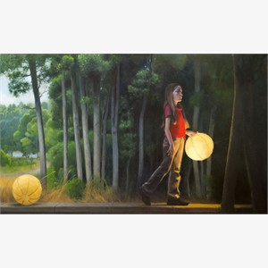 Dark Woods and Lanterns