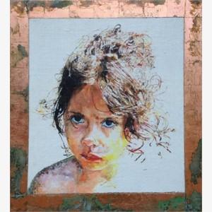 Portrait of Paloma (Sun Girl)
