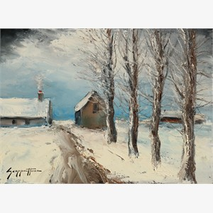 Winter Farm , 2016