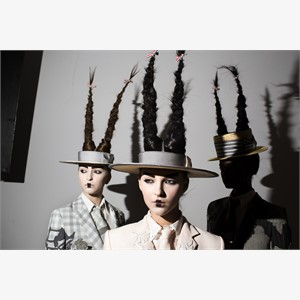 Thom Browne (Hats and Hair)