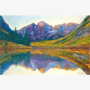 Reflections - The Maroon Bells (AP)