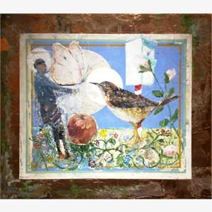 Still Life for Bird Temple #1