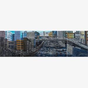 Freeway 11 - triptych
