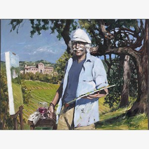 The Painter at Sunstone Villa