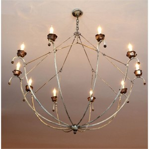 Basket Chandelier