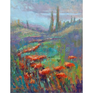 Wild Poppies in Tuscany