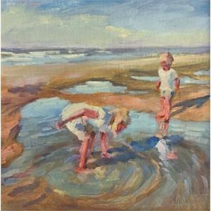 Beach Discoveries (Child Portraiture)