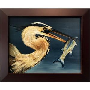 Heron and Fish 2