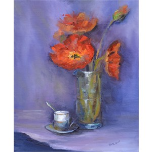 Poppies and Espresso