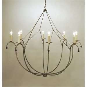 Basket Chandelier - 8 Arm