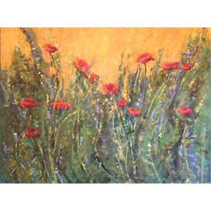 Sunshine on the Poppies (Italian Poppies)