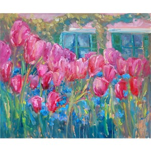 Tulips at Giverny