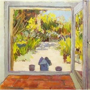 Outside the Kitchen Window
