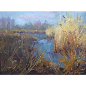 Autumn Grasses on the Marsh
