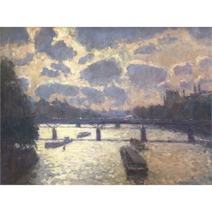 Afternoon Shimmer on the Seine