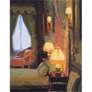 Lamp Lit Room