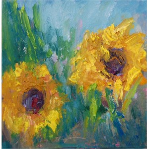 August Sunflowers I