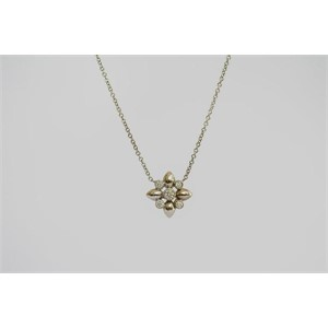 Necklace Star Pendant with Diamonds, Small
