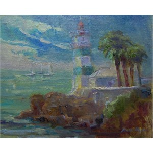 First Painting in Cascais (Portugal)
