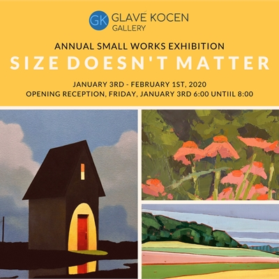 SMALL WORKS EXHIBITION: SIZE DOESN'T MATTER
