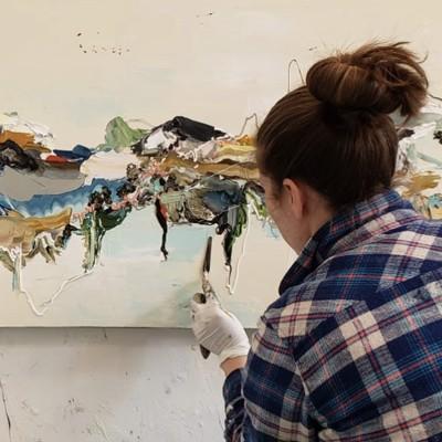 Nicole Katsuras: Painting Outside the Lines