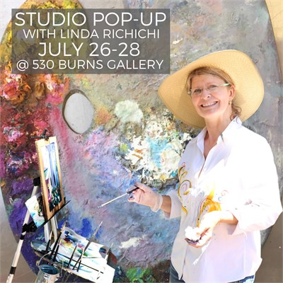 Studio Pop-up and Summer Exhibition with Linda Richichi