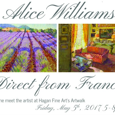 Alice Williams: Direct from France
