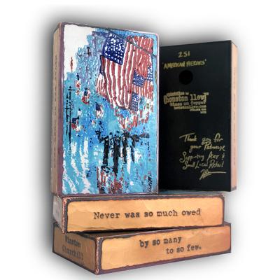 Surprise Spiritile Release ~ American Heroes