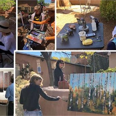 Canyon Road Spring Art Festival May 10th - 11th, 2019, featuring Molly Heizer