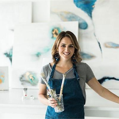 Lindsay Von Live Painting
