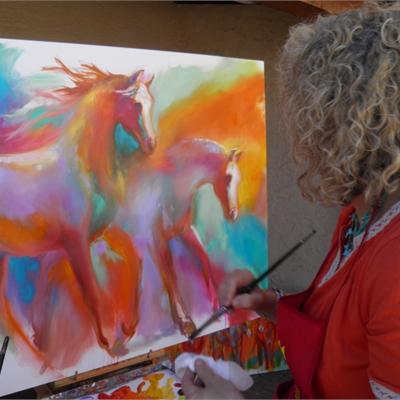 Visiting Artist Barbara Meikle