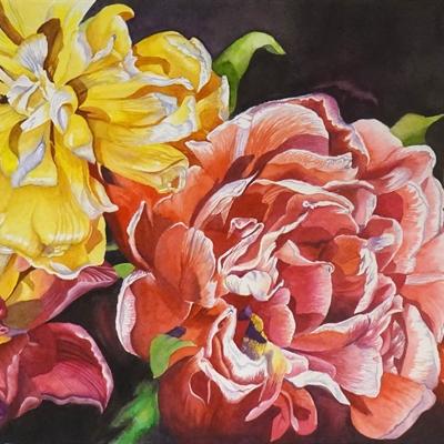 Jane Stephens Memorial Watercolor II