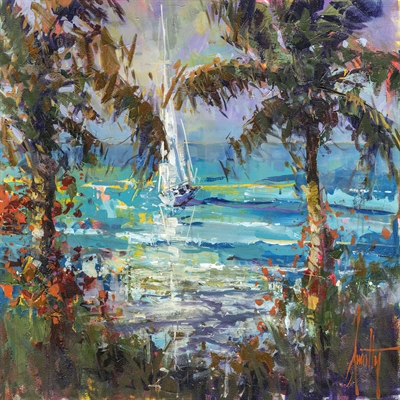 Steven Quartly Debut Art Show at Key West Gallery