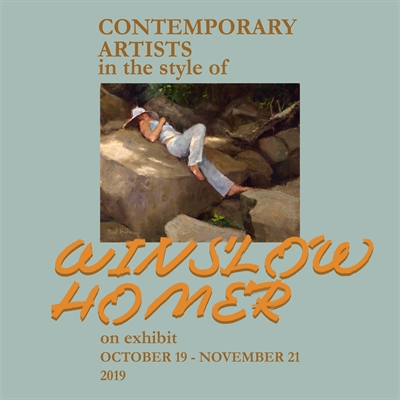 'Contemporary Artists in the Style of Winslow Homer' - extended due to popular demand.