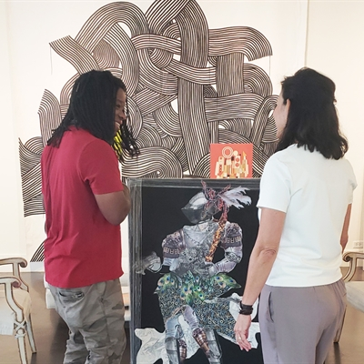 Studio Visit with Artist Demond Matsuo