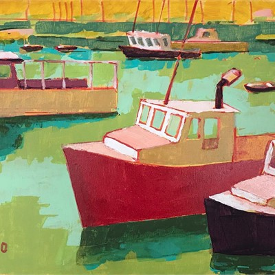 Cape Ann Museum and Copley Society Artist in Residence Talk by Ann Marie O'Dowd