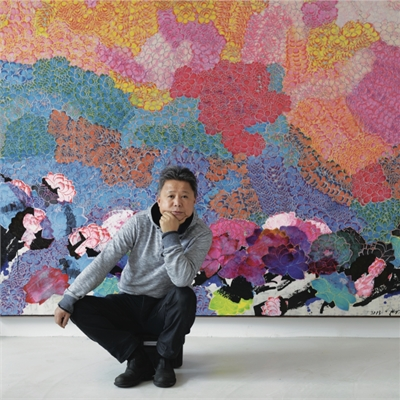 Color Fields: Zhuang Hong Yi at LRFA HOUSTON