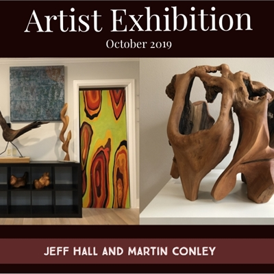October Featured Artists: Jeff Hall and Martin Conley