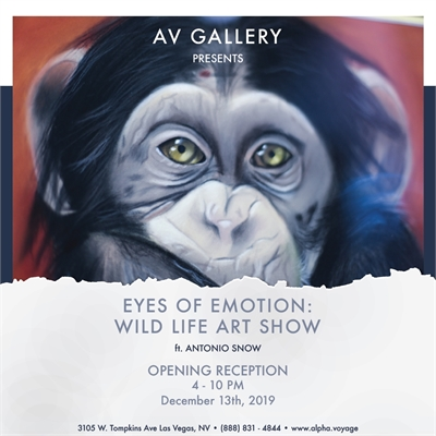 Eyes of Emotion: Wild Life Art Show by Antonio Snow