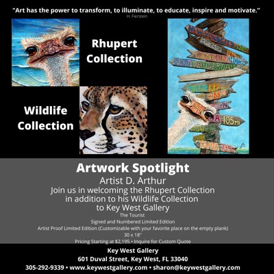 "Welcoming D. Arthur's ""Rhupert Collection"" in addition to his Wildlife Collection"