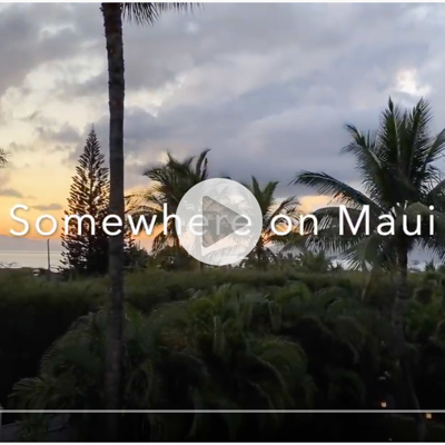 Video- Dario Campanile Stuck on Maui